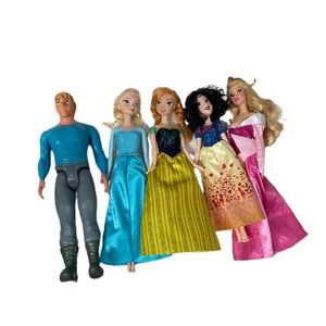 Barbie Disney Princess collection Frozen and more!